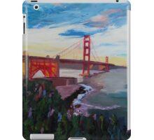 Golden Gate Bridge San Francisco at Sunset iPad Case/Skin