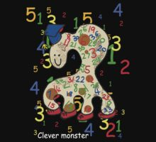 Clever monster 123 by Sarah Gee