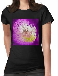 violet acquerello Womens Fitted T-Shirt
