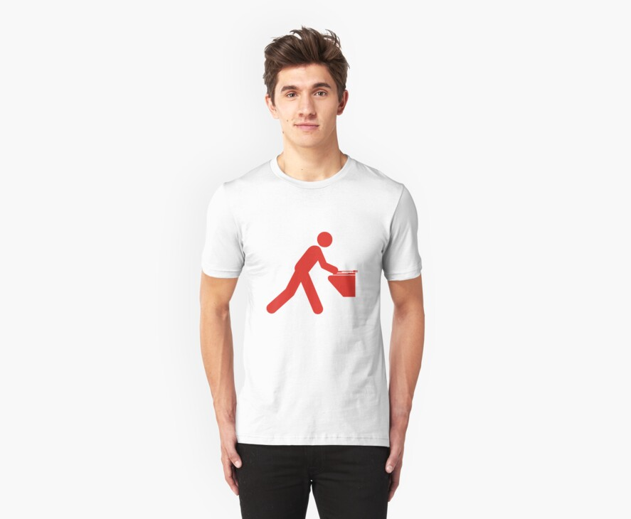 STICK MAN DJ by Awesome Rave T-Shirts