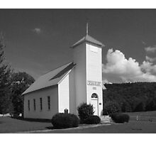 Northcutts Cove Chaple Photographic Print