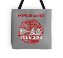 Depeche Mode : Tour Logo 2013 - With old logo  Tote Bag