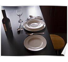Dinner alone Poster