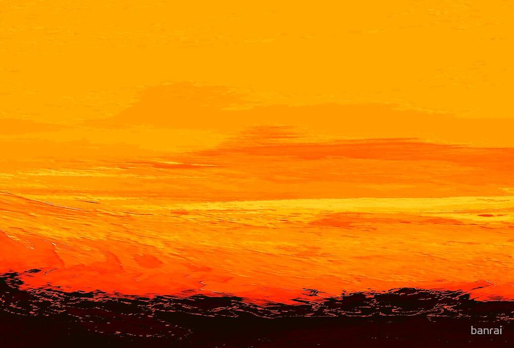 Lava sea by banrai