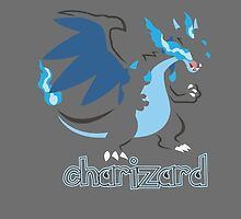 Mega Charizard X by Roes Pha