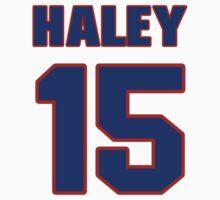 Basketball player Jack Haley jersey 15 by imsport