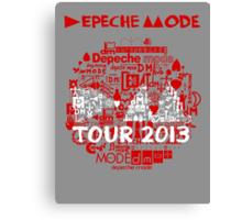 Depeche Mode : Tour Logo 2013 - With old logo  Canvas Print