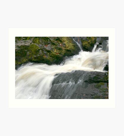 The River Feaugh Aberdeenshire Art Print