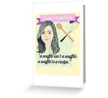 A SOUFFLE ISN'T A SOUFFLE Greeting Card