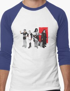 French Kissers Men's Baseball ¾ T-Shirt