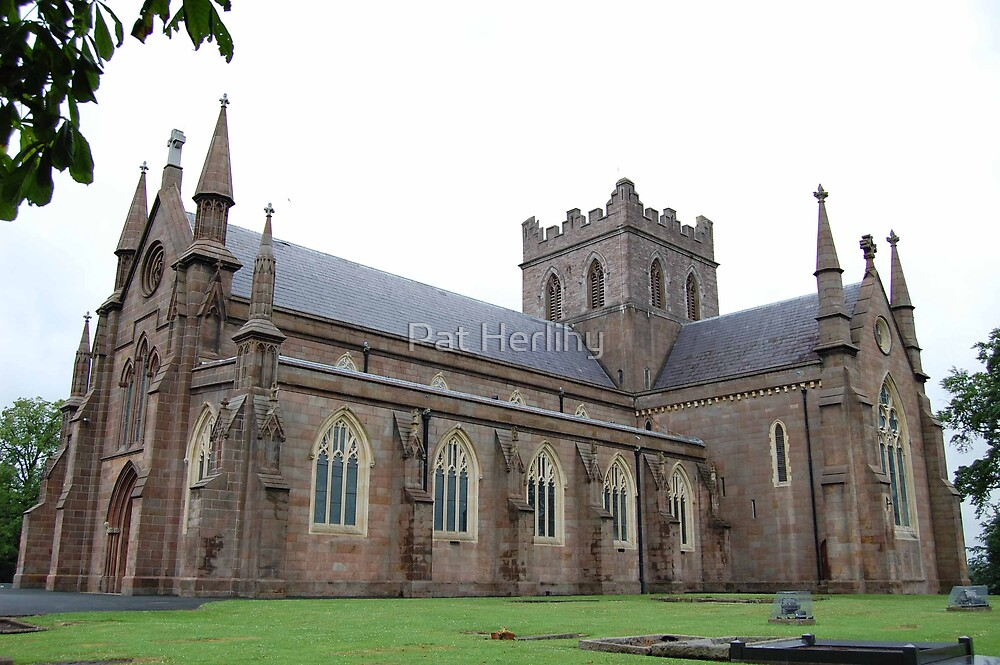 St. Patrick's CofI Cathedral, Armagh by Pat Herlihy