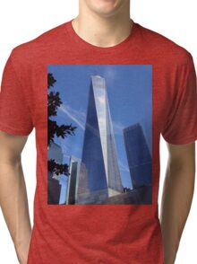 Freedom tower Tri-blend T-Shirt