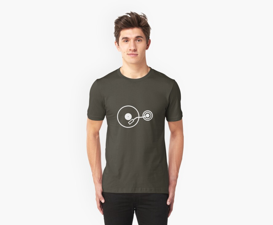 DISC & STYLUS 2 by Awesome Rave T-Shirts
