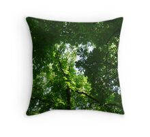 green crowns Throw Pillow