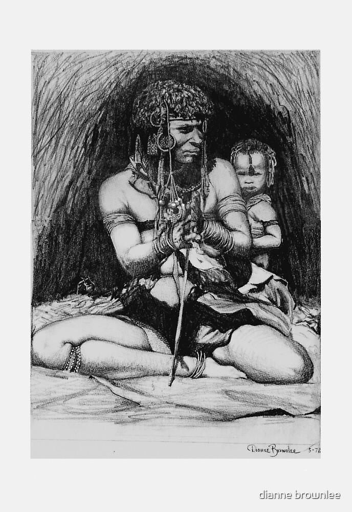 Ancestral Africa 1 by dianne brownlee