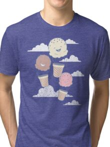 Floatin Scoops Tri-blend T-Shirt