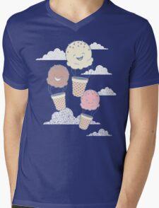 Floatin Scoops Mens V-Neck T-Shirt