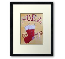 Christmas Stockings Framed Print