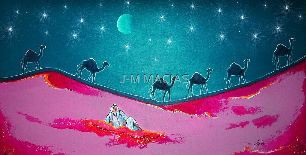 Pink Desert  by J-M MACIAS