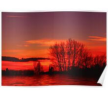 Red Sky at Night... Poster