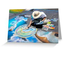 Calk Color Artist. Imadinari Festival Greeting Card
