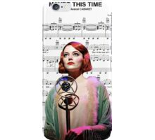 Maybe This Time - Cabaret iPhone Case/Skin
