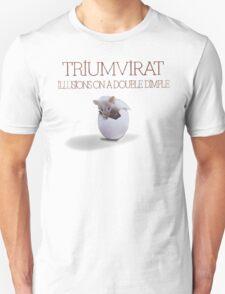 Triumvirat - Illusions on a Double Dimple Unisex T-Shirt