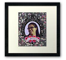 Cosima Niehaus Portrait - Orphan Black Framed Print