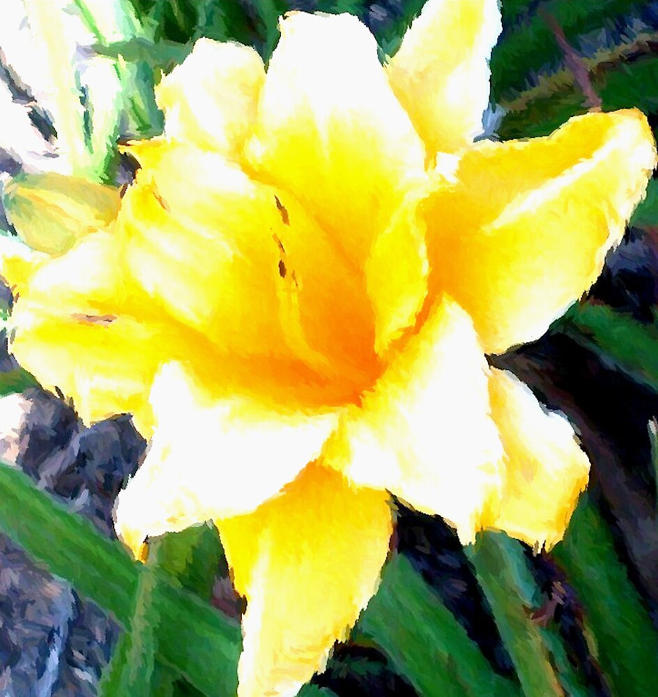 Yellow Flower by Shante' Mathes