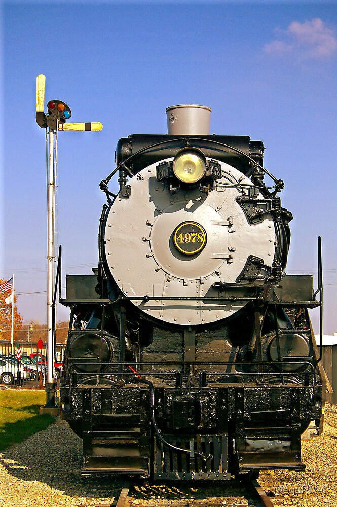 Old Number 4978 in Mendota, IL. by MegaPixel