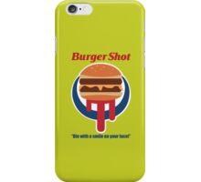 Burger Shot iPhone Case/Skin