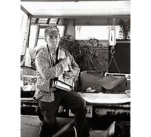 Autoharp Player, Farmer's Market-McMinnville, Tennessee Photographic Print