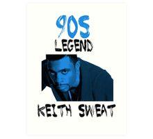Keith Sweat Art Print