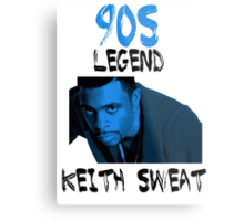 Keith Sweat Metal Print