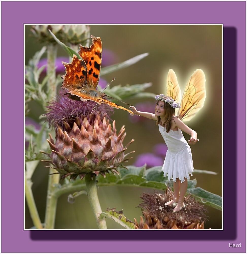 The Thistle Fairy by Harri