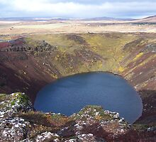 Kerið Volcanic Crater by NHPaul