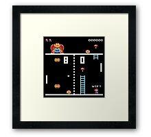 Donkey Pong Framed Print