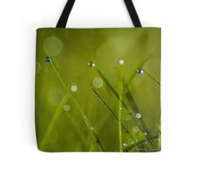Morning Dew in the Grass (1) Tote Bag