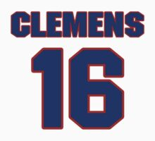 Basketball player Barry Clemens jersey 16 by imsport