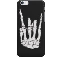 Skeleton hand | White iPhone Case/Skin