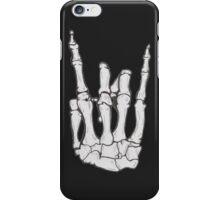 Skeleton hand | White iPhone Case/Skin