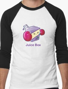 Cute Pun: Juice Box Men's Baseball ¾ T-Shirt