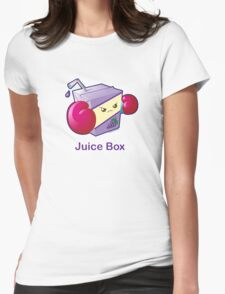 Cute Pun: Juice Box Womens Fitted T-Shirt