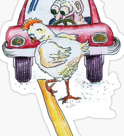 Chicken Dance Sticker