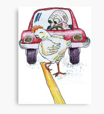 Chicken Dance Canvas Print