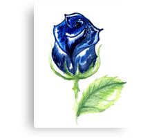 Colorful Painted Rose Canvas Print