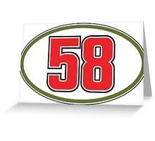 Simoncelli 58 Greeting Card