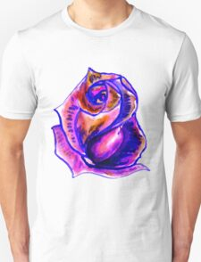 Colorful Painted Rose 2 T-Shirt