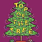 Chrismas Card - Top Of The Tree. by NigelSutherland