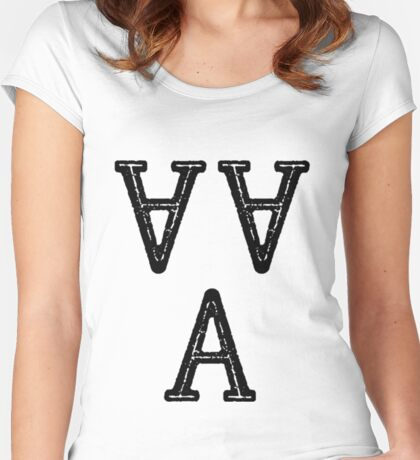 A A A Women's Fitted Scoop T-Shirt